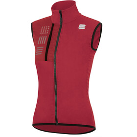 Sportful Giara Layer Vest Women, red rumba